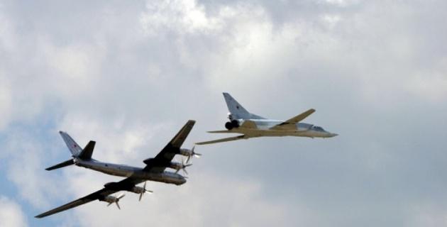ВВС Японии подняли по тревоге из-за российских военных самолетов