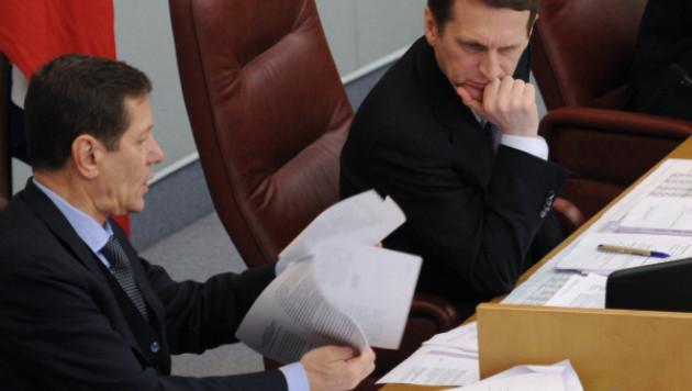 Нарышкин поручил пересчитать депутатов-прогульщиков в Госдуме