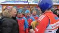 Путин проехал по санно-бобслейной трассе вопреки уговорам спортсменов