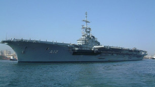 На единственном авианосце ВМС Бразилии произошел пожар