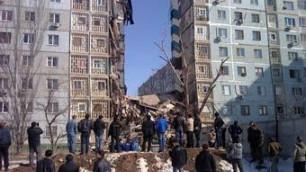 Четыре человека пострадали при взрыве газа в рухнувшем доме в Астрахани