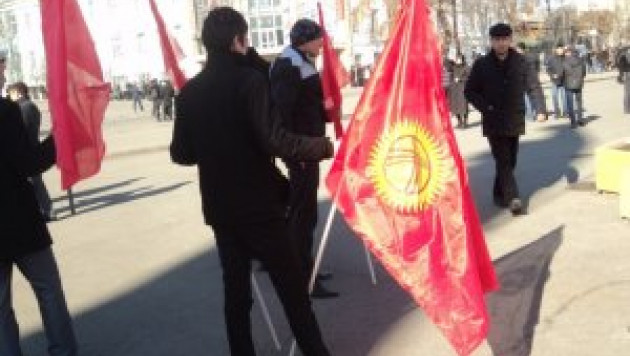 Участники митинга в Оше потребовали отставки правительства Кыргызстана