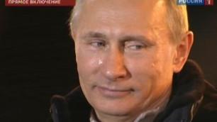 """Маккейн прокомментировал слезы Путина на """"митинге победителей"""""""
