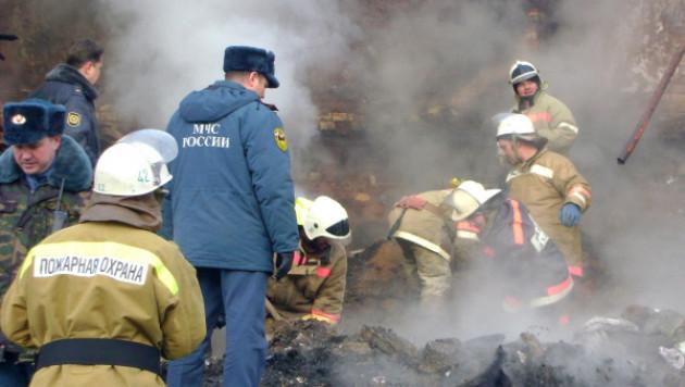 Тело ребенка найдено на месте пожара в подмосковном доме