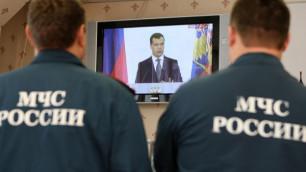 Под Красноярском в ДТП погибли четыре сотрудника МЧС