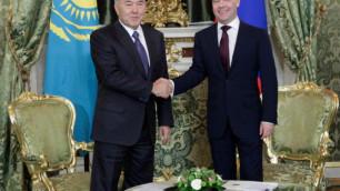 Президент Казахстана прибыл с рабочим визитом в Москву