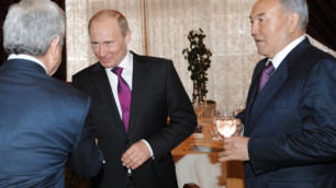 Назарбаев пригласил Путина в гости после инаугурации