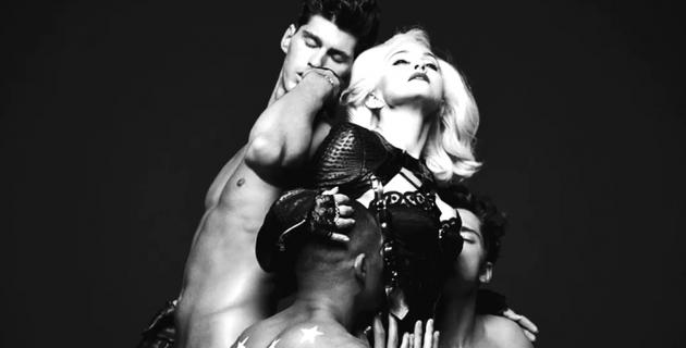 Клип Мадонны не прошел цензуру на Youtube