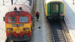 Во Владимире хулиганы обстреляли пассажирский поезд