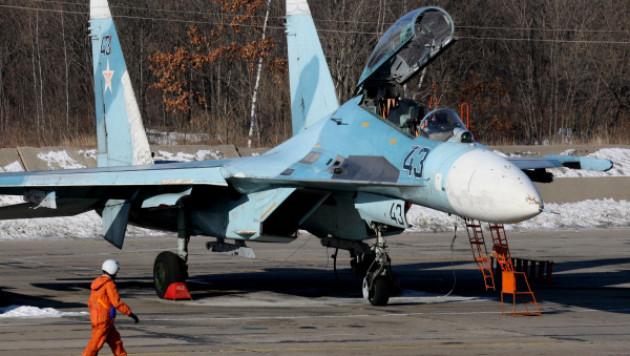 Истребитель Су-27 аварийно сел в Калининградской области
