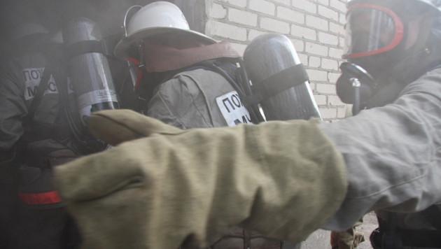 В московской школе из-за пожара началась эвакуация