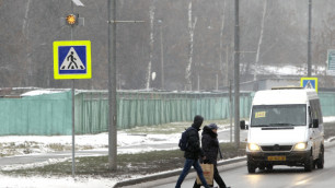 Иномарка сбила мать с тремя детьми в Томске