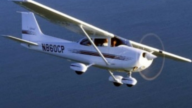 Во Флориде самолет рухнул на торговый центр