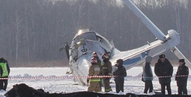 Последний полет разбившегося под Тюменью ATR-72 длился 40 секунд