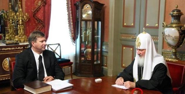 Пресс-служба патриарха Кирилла извинилась за ошибку при обработке фото