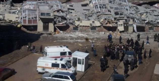 Возбуждено дело по факту обрушения дома в Караганде