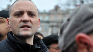 Сергей Удальцов задержан у Госдумы после усиления охраны