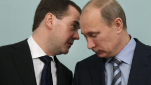 Медведев и Путин отчитались о доходах за 2011 год