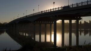 На трассе Баку - граница России обрушился мост