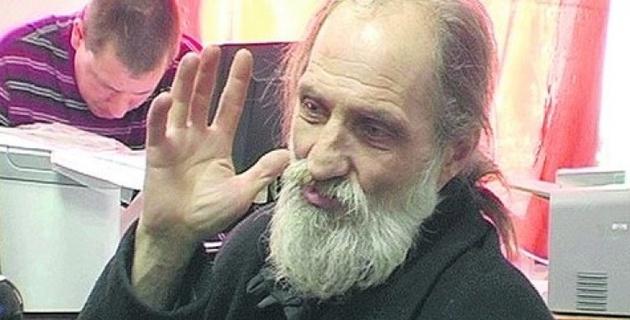 В Киеве за попрошайничество задержали Иисуса Христа