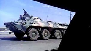 Шеин сообщил о вводе бронетехники в Астрахань