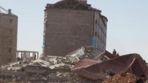 Названы причины обрушения дома в Караганде