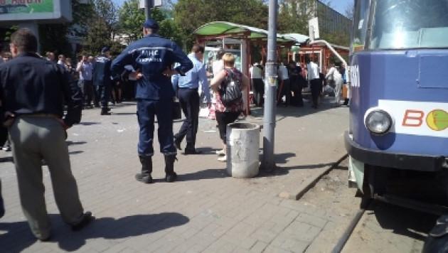 В центре Днепропетровска прогремел взрыв
