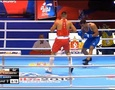 Видео полного боя Кункабаева с победой нокаутом на ЧМ-2019 по боксу
