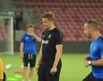 """Видео предыгровой тренировки """"Кайрата"""" в Израиле перед матчем Лиги Европы"""