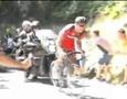"""Мотоцикл сбил велогонщика на """"Классике Сан-Себастьяна"""""""