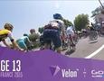 """13-й этап """"Тур де Франс"""". Нибали финиширует седьмым и сохраняет место в """"генерале"""""""