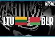 Видеообзор матча Беларусь - Литва на ЧМ-2019 по хоккею