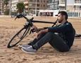 История любви: гонщик и его велосипед