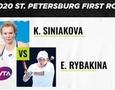 Видеообзор победы первой ракетки Казахстана на старте турнира WTA в России